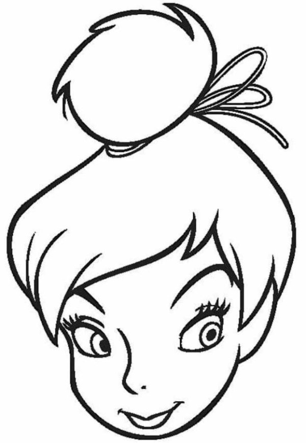 head coloring pages - photo#18