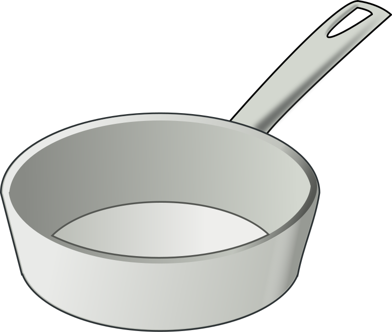 Cooking pot clip art for Art and cuisine pans