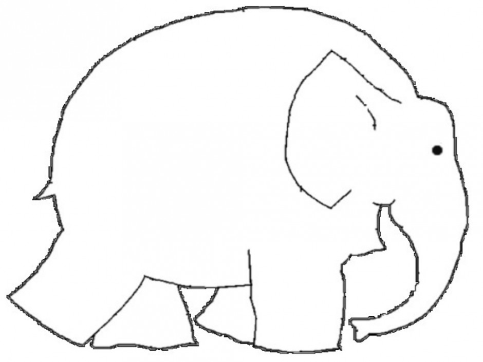 Dynamite image for elmer the elephant printable
