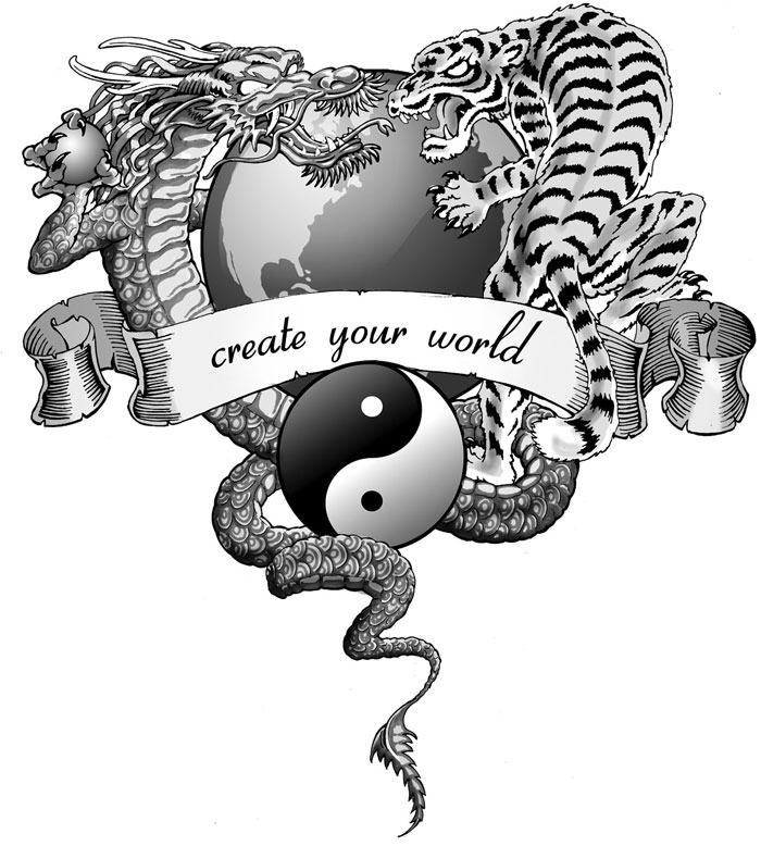Tiger Vs Dragon Tattoo Designs Pictures to Pin on ...