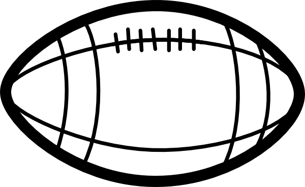 Clipart Football Black And White | Clipart Panda - Free Clipart Images