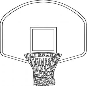 Cartoon Basketball Goal - Cliparts.co