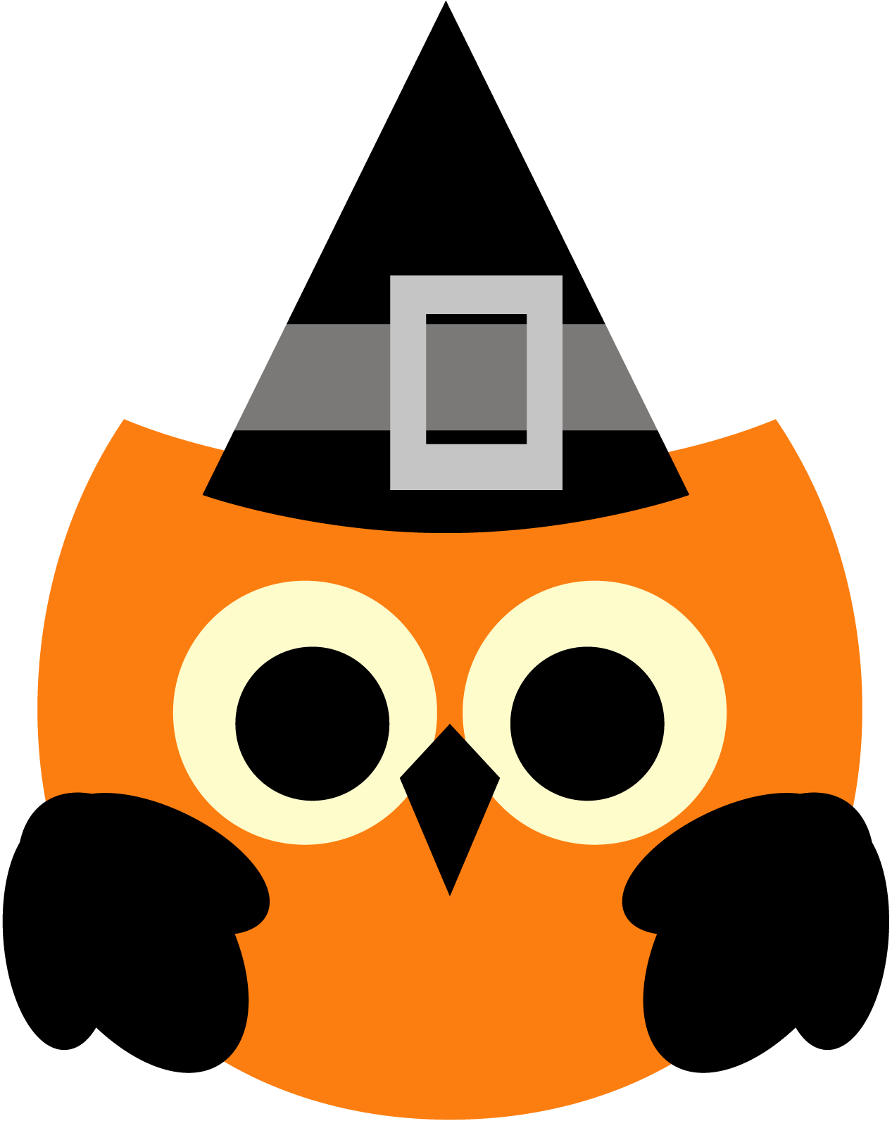 Owl halloween clipart freebie (free clip art graphic) | revidevi.