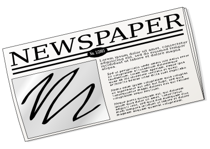 Free to Use & Public Domain Newspaper Clip Art