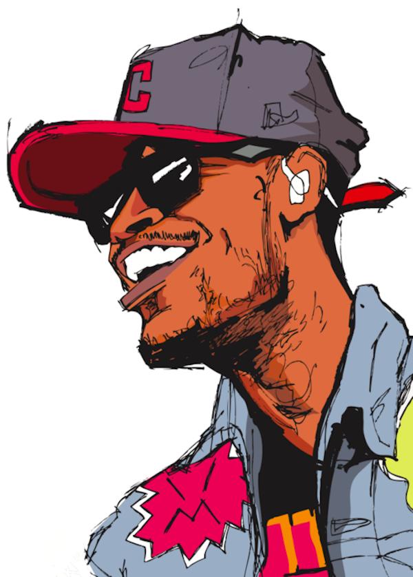 A Z Cartoon Characters Rap : Hip hop cartoon characters cliparts