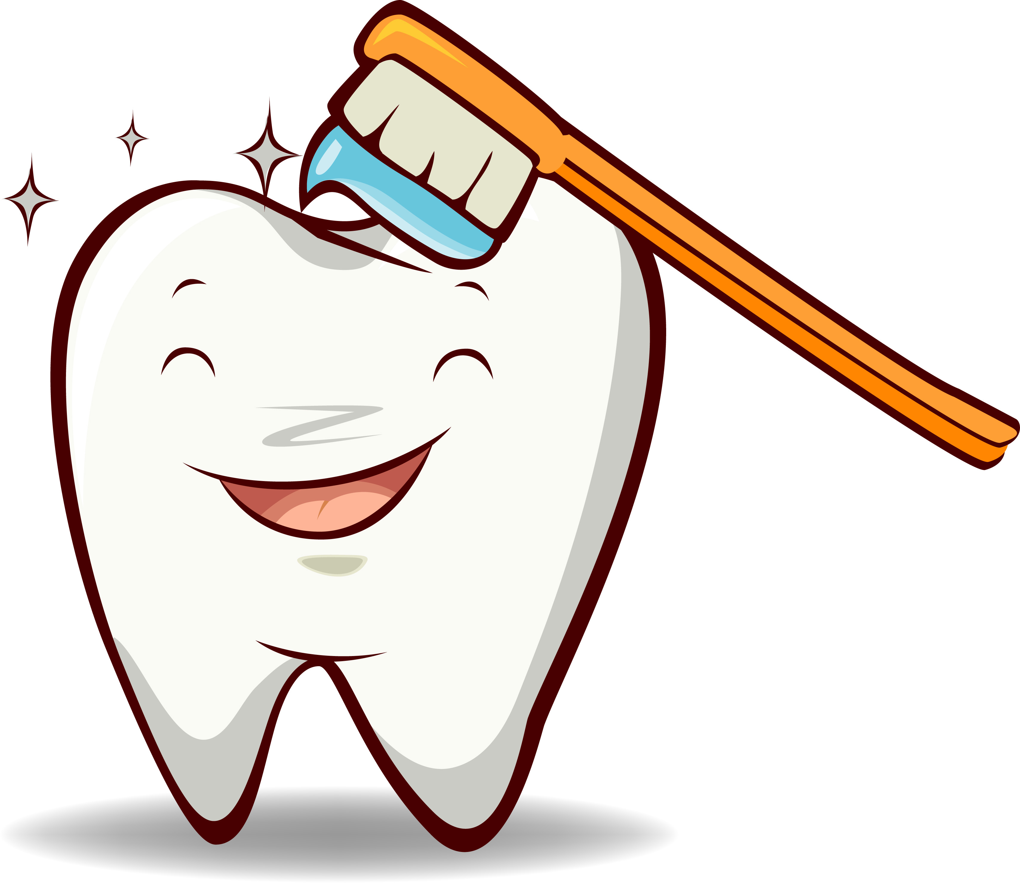 Happy Tooth Clip Art | Clipart Panda - Free Clipart Images