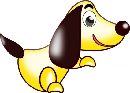 Cartoon dog clip art free Free vector for free download (about 55 ...