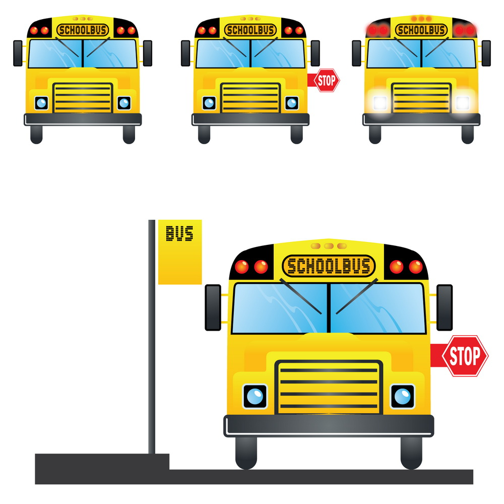 back to school bus clipart - photo #25