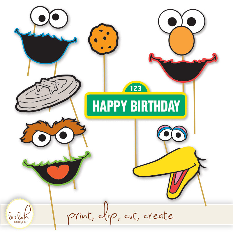 Sesame Street Clip Art - Cliparts.co