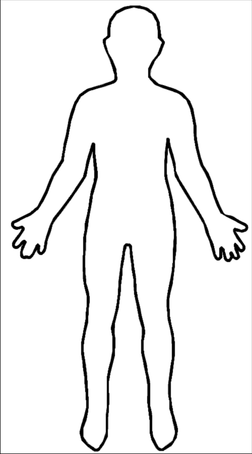 Female Body Outline - Cliparts.co