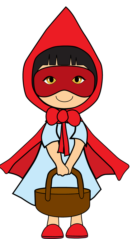 Little Red Riding Hood Clip Art - ClipArt Best