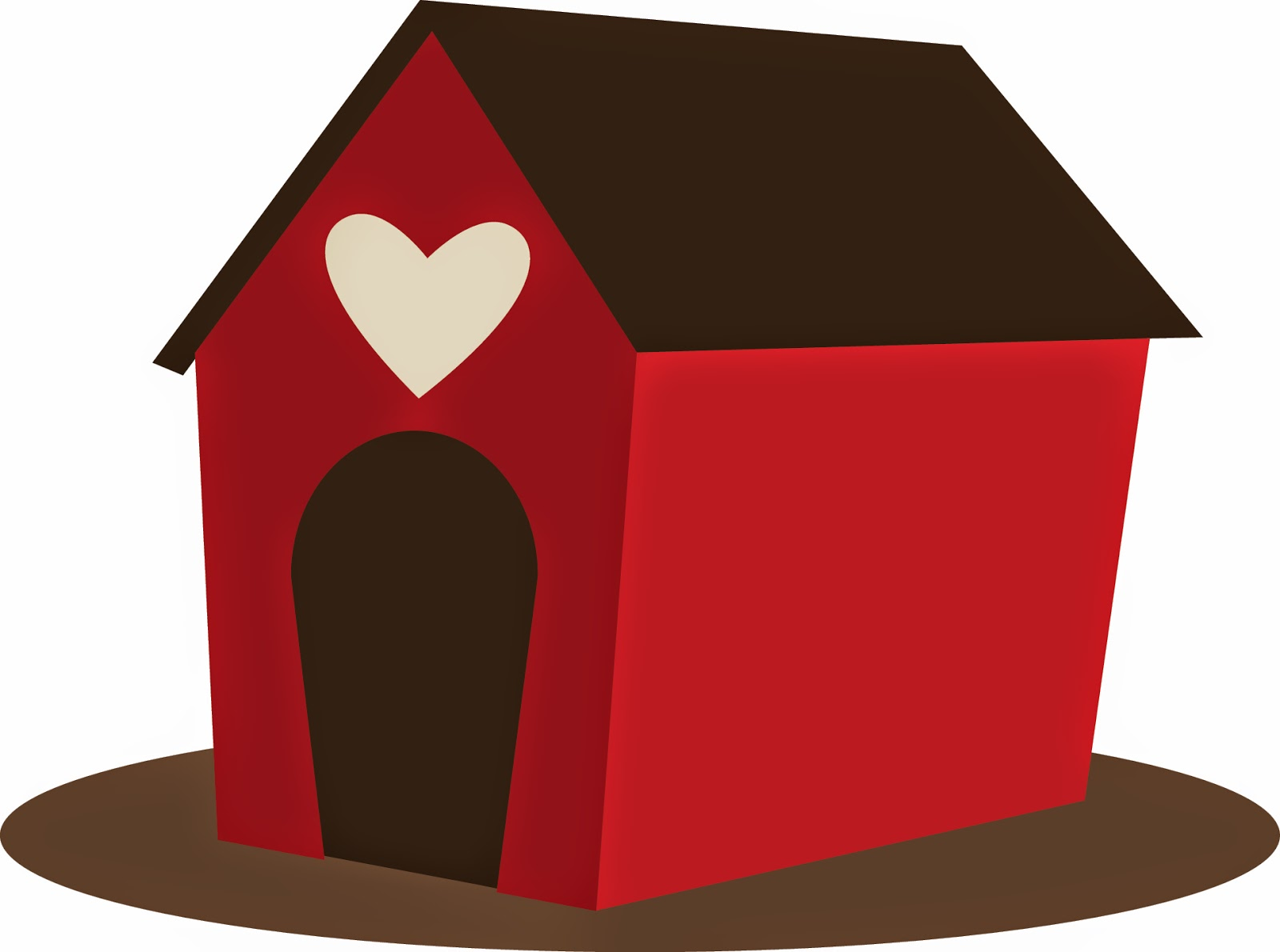 clipart of dog houses - photo #4