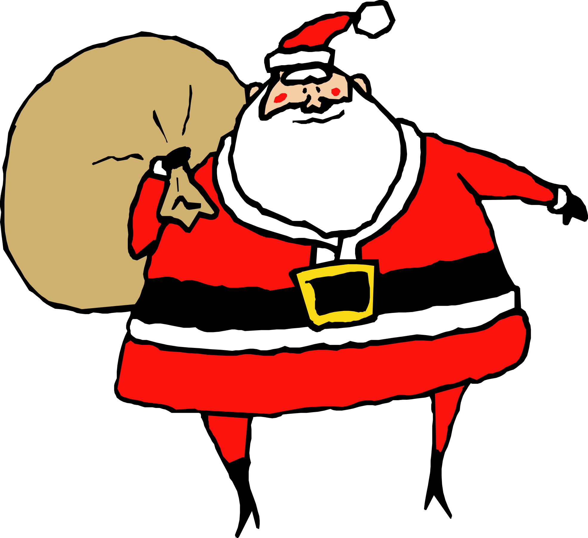 Clipart Of Santa Claus - Cliparts.co