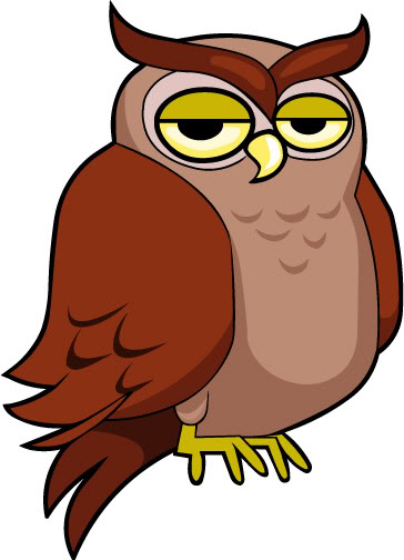 Cartoon Owl Clip Art | lol-rofl.com
