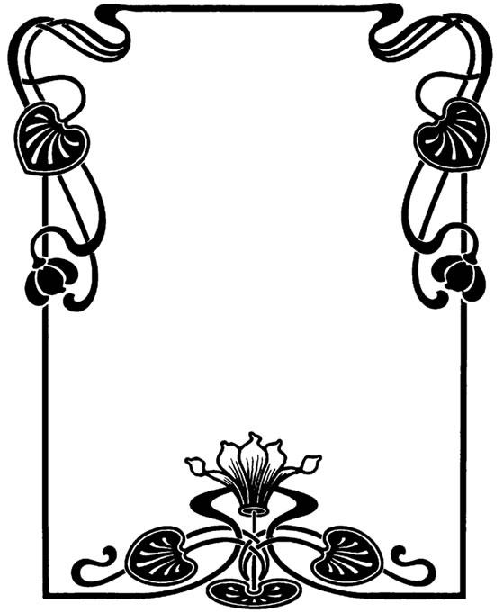 Art Deco Border Clip Art - Cliparts.co