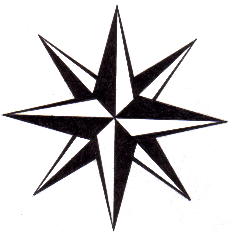 nautical star compass pictures to pin on pinterest pinsdaddy. Black Bedroom Furniture Sets. Home Design Ideas