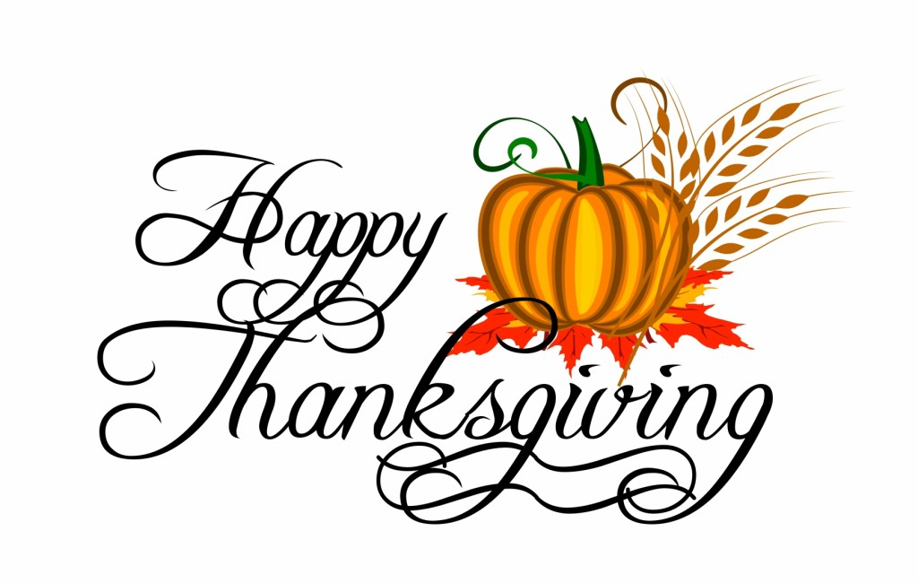 Happy Thanksgiving Logo | quotes.