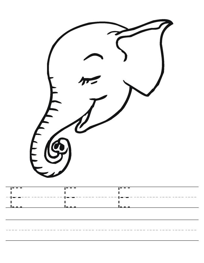 halloween elephant coloring pages - photo#49