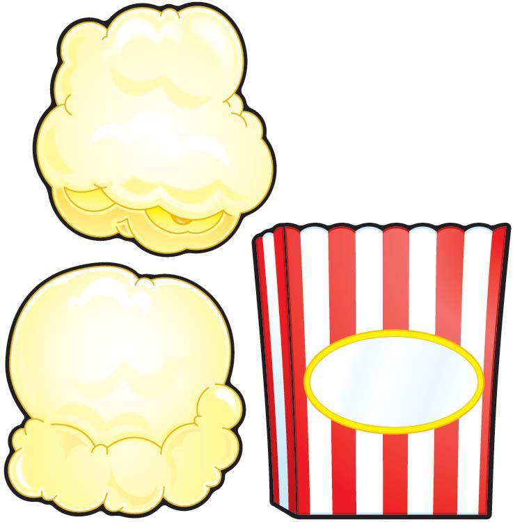 Popcorn Bucket Template