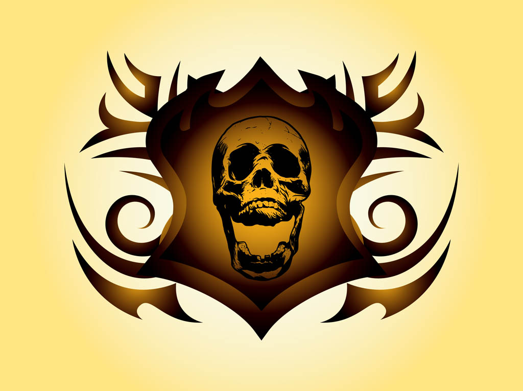 Free Skull Vectors - 3. Page