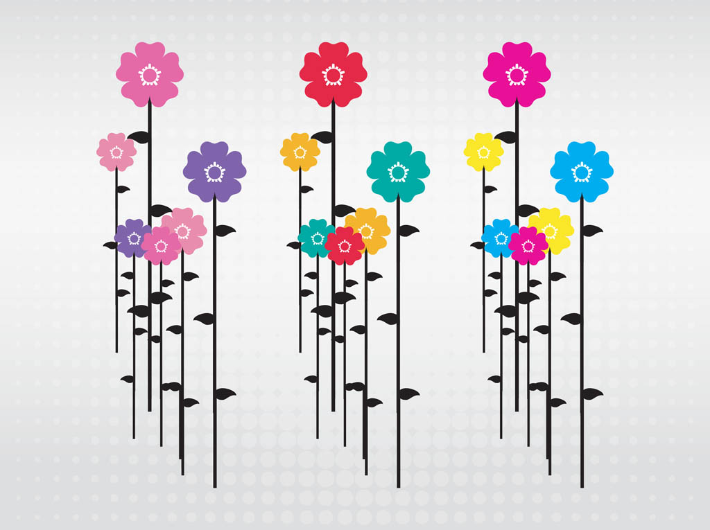 Flowers Illustrations Cliparts Co