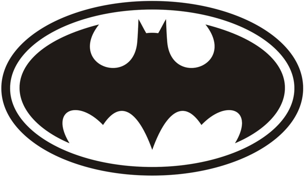 Disegno Di Simbolo Di Batman Da Colorare Per Bambini Gratis