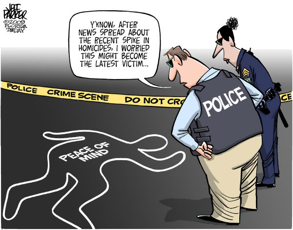 Government Project - Crime - Political Cartoons