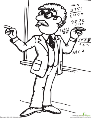 Learn to Draw a Teacher (Female)