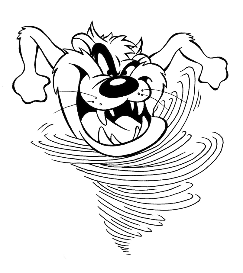 red devil coloring pages - photo#19