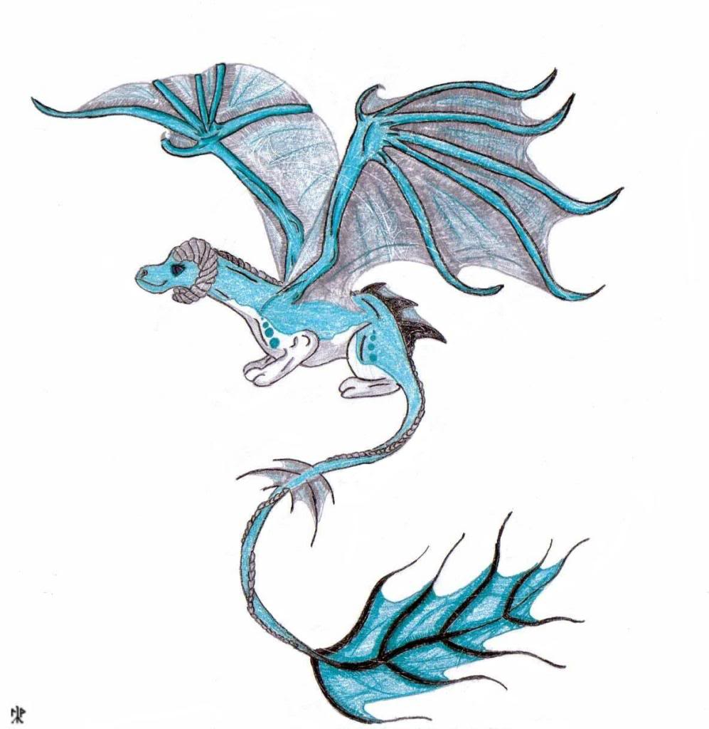 Drawings Of Dragons Coloring Pages
