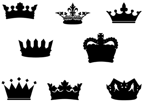 free vector clipart crown - photo #34