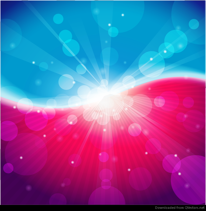 Abstract Light Blue Pink Bokeh Background Vector - Free Vector ...