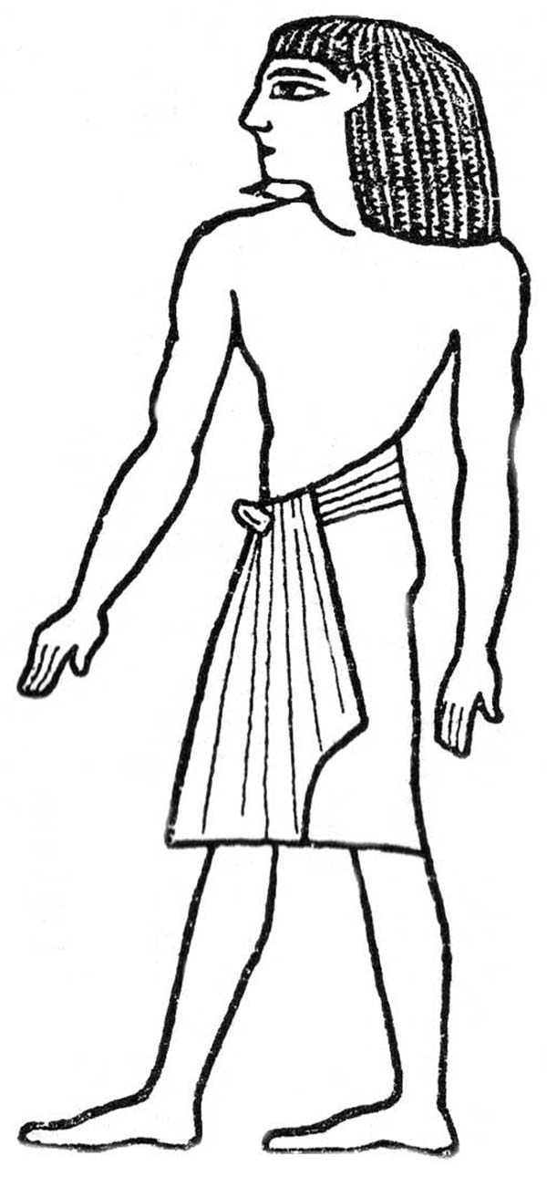egyptian women coloring pages - photo#16