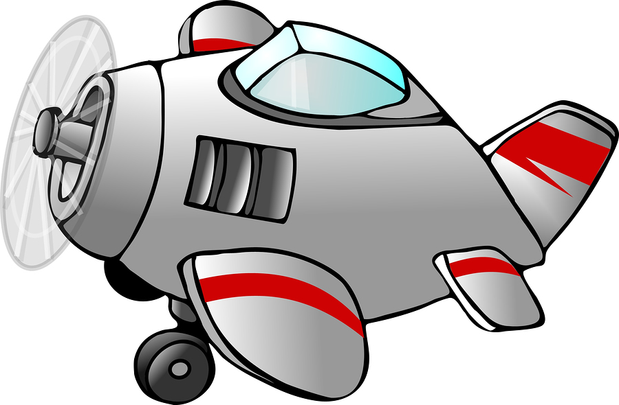 Cartoon Airplane Flying Right Images & Pictures - Becuo