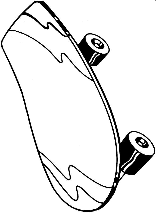 Skate 3 Colouring Pages : Skate Board Images Cliparts.co