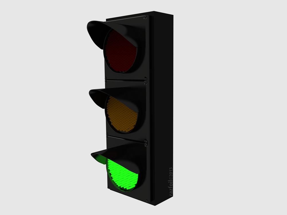 clipart traffic light green - photo #19