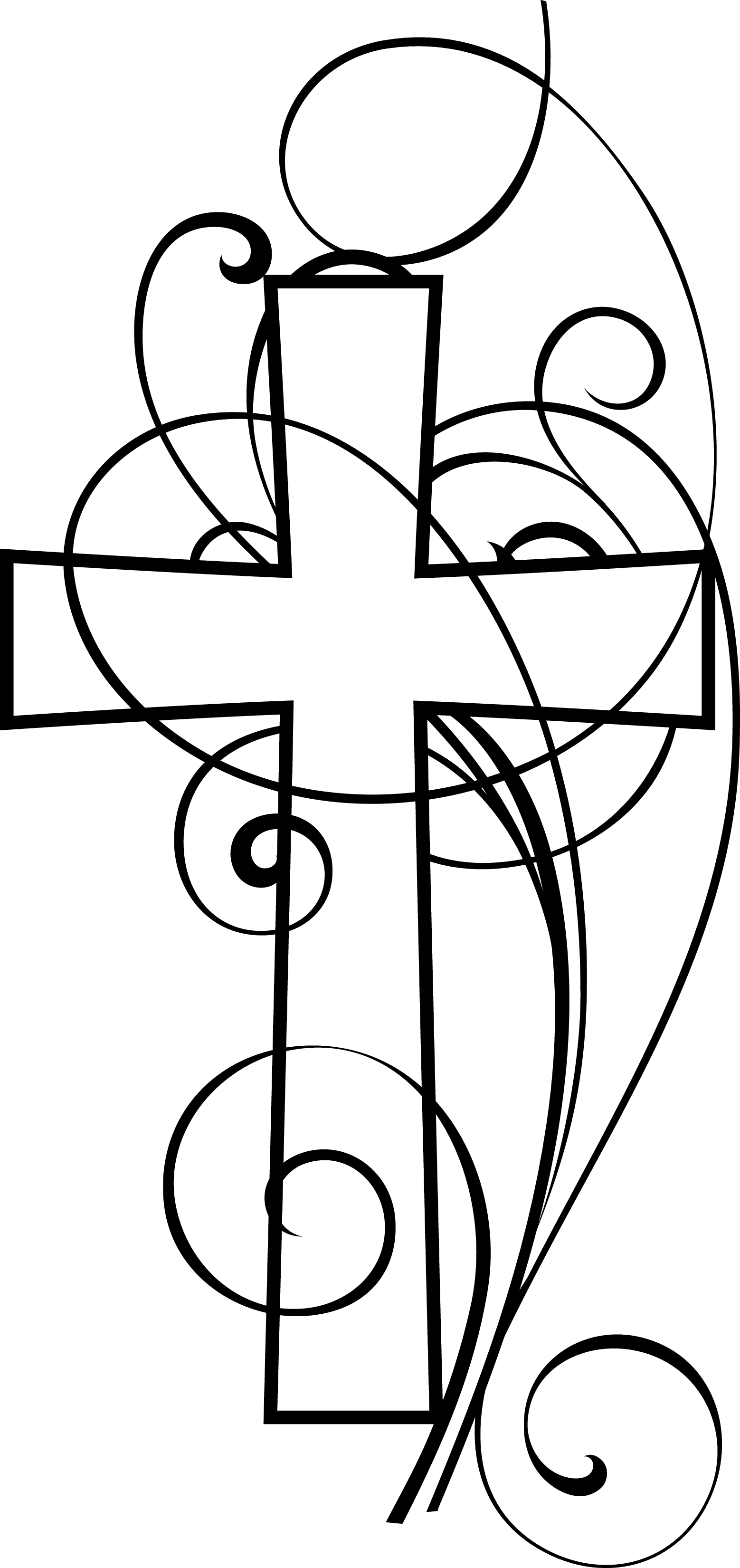 Christian Clip Art Black And White - ClipArt Best