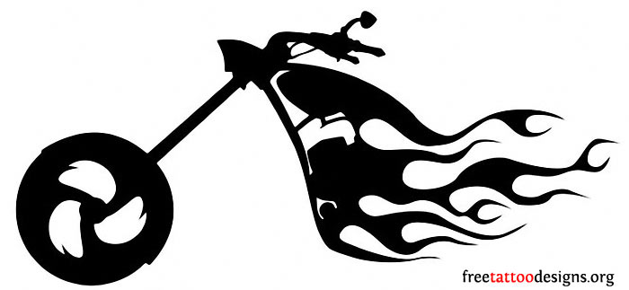 Biker Tattoos Designs Stencils