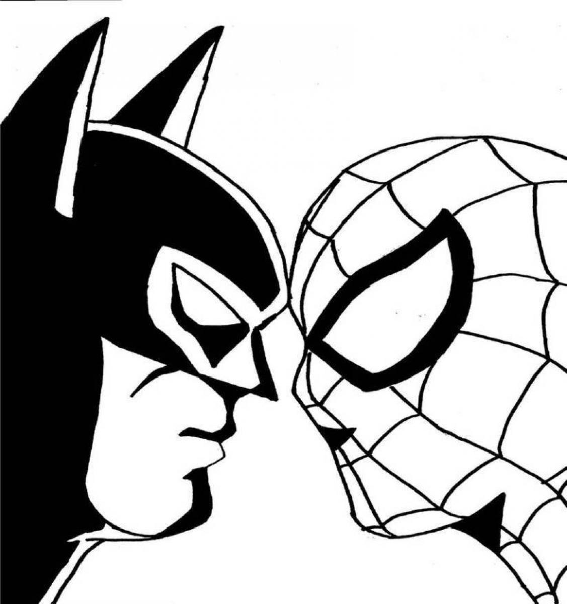 coloring pages spiderman | Kids Activities