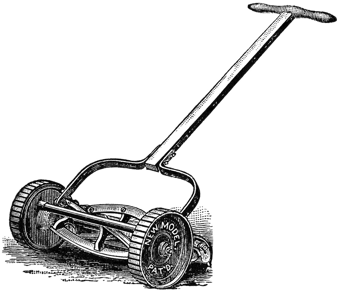 free clipart images lawn mower - photo #46