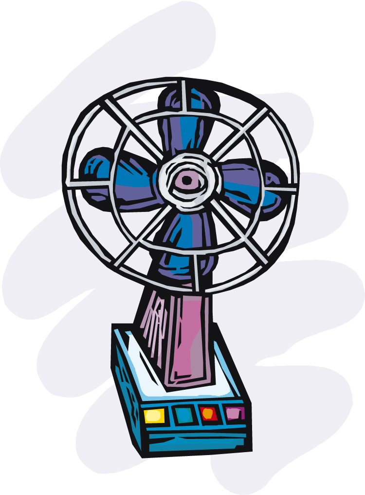 Electric Fan Clip Art : Electric fan clipart cliparts