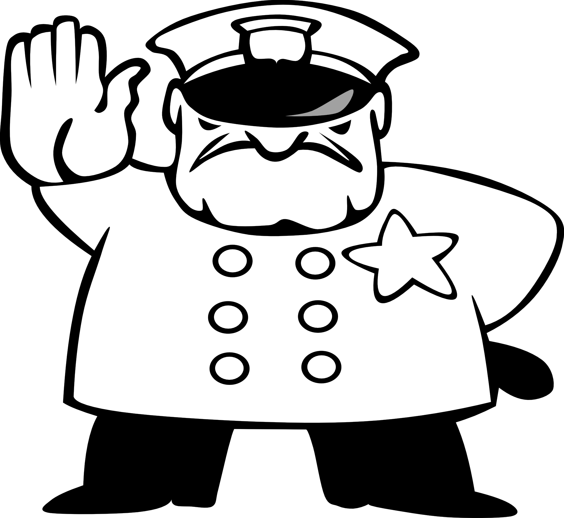 police man clipart cliparts co policeman clipart with stop sign policeman clipart black and white