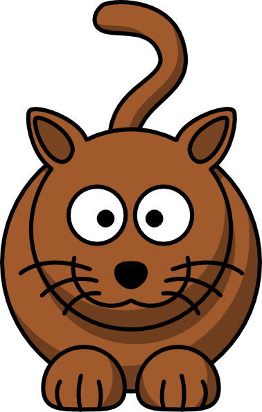 Cartoon Cat clip art Free Vector / 4Vector