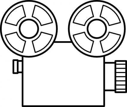 Video Camera Clipart Black And White | Clipart Panda - Free ...