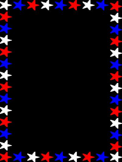 Patriotic Star Border Clip Art | Clipart Panda - Free Clipart Images