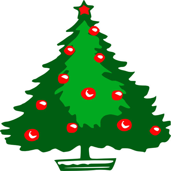 Clipart Christmas Tree Outline | Clipart Panda - Free Clipart Images