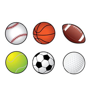 Sports balls vector   Clipart Panda - Free Clipart Images