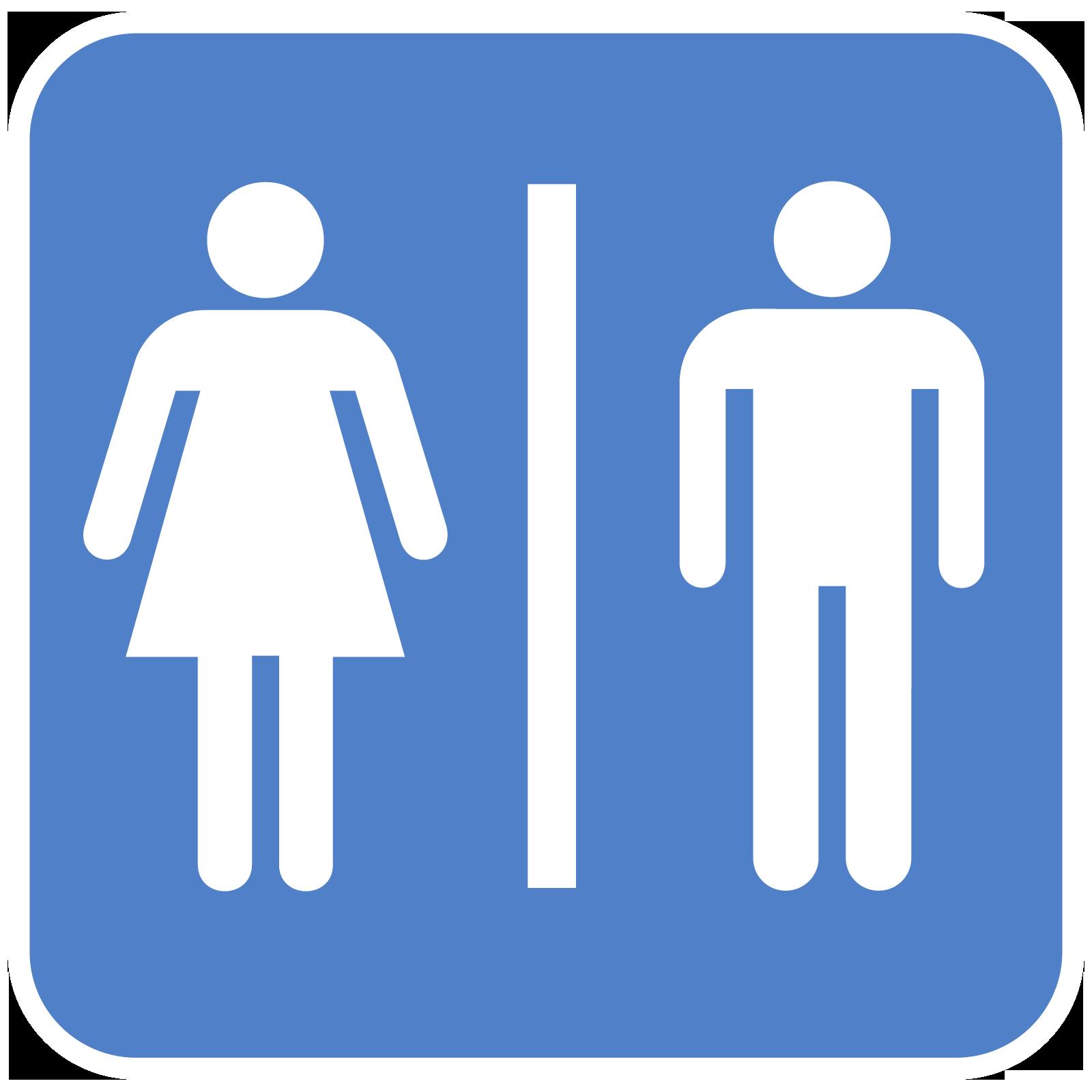 Free Printable Bathroom Signs Cliparts Co