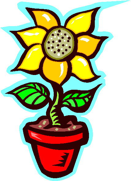 Clip Art - Clip art sunflower 414199