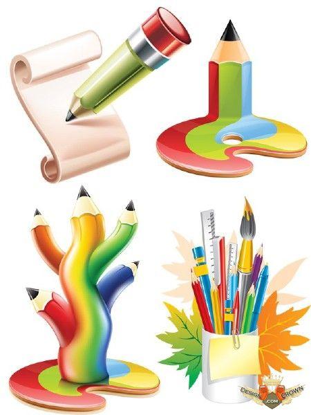 Кисточки краски картинки